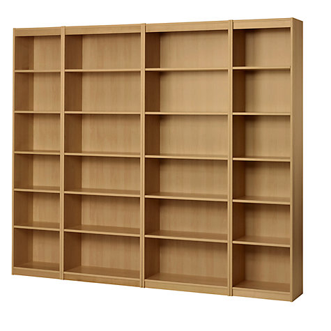 Buy John Lewis Agatha Bookcase Combination, Oak Online at johnlewis.com