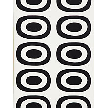 Buy Marimekko Pieni Melooni, Black / White,14141 Online at johnlewis.com