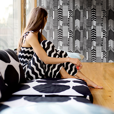 Buy Marimekko Ruutukaava Wallpaper Online at johnlewis.com