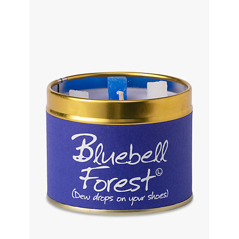 Buy Lily- Flame Scented Candle in a Tin, Bluebell Forest Online at johnlewis.com