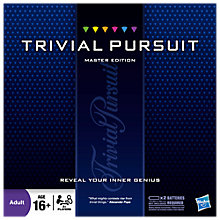 Buy Hasbro Trivial Pursuit Master Game Online at johnlewis.com