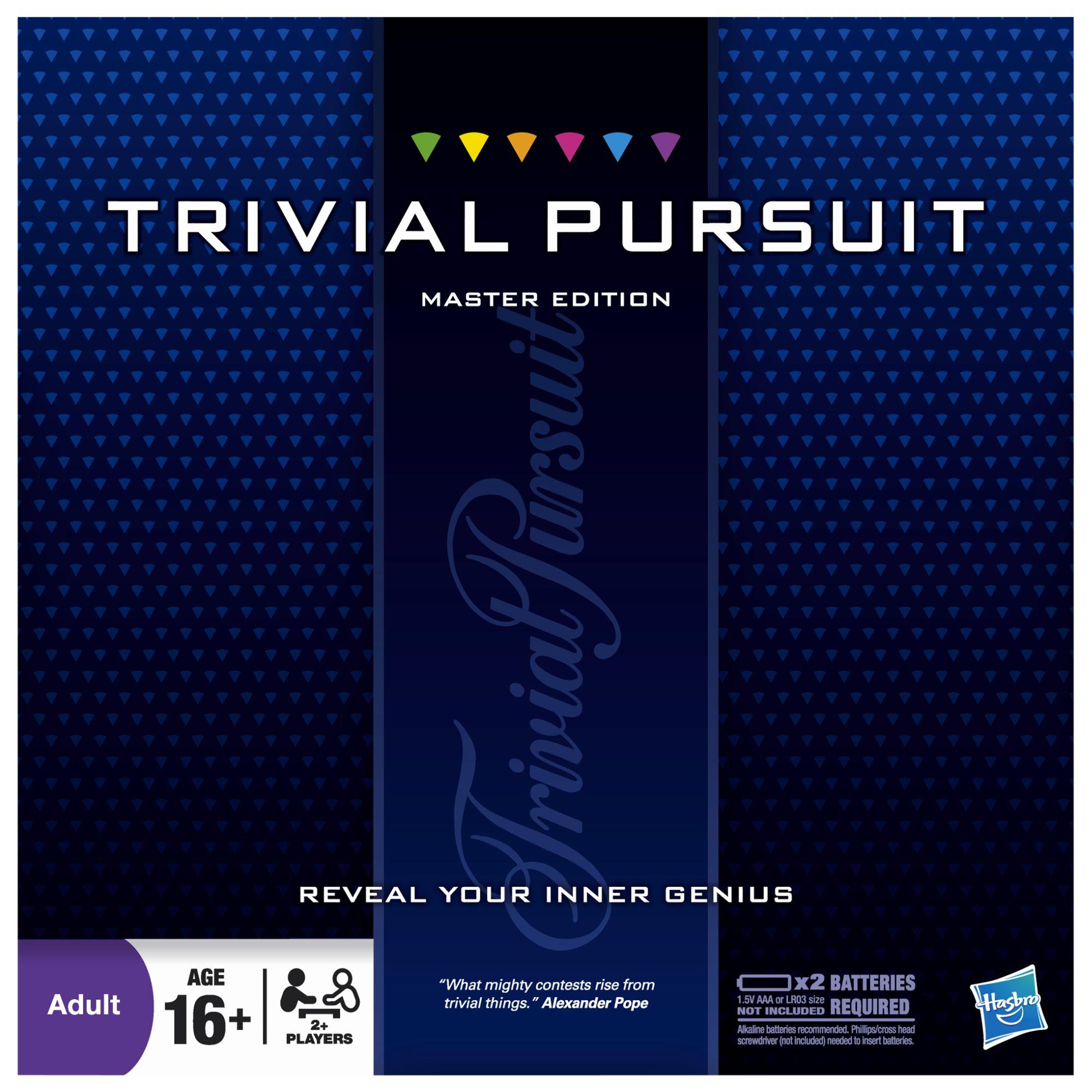 Trivial Pursuit Trivial Pursuit Master Game