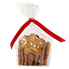 Buy Image on Food Gingerbread Men in a Bag, 65g Online at johnlewis.com