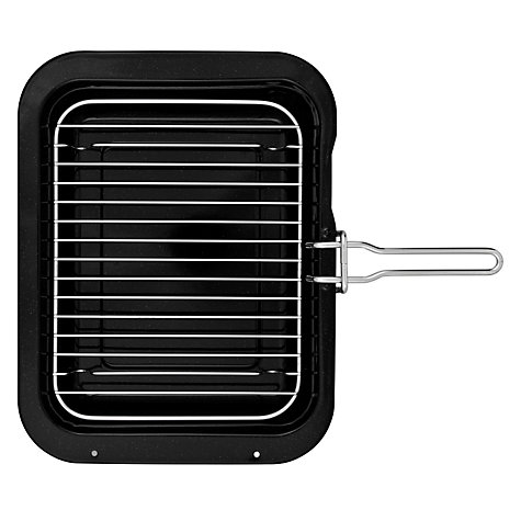 Buy John Lewis Vitreous Enamel, Grill Pan with Handle Online at johnlewis.com