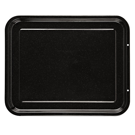 Buy John Lewis Vitreous Enamel, Oven Tray, L39cm Online at johnlewis.com