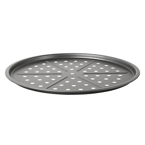 Buy John Lewis Professional Nonstick Pizza Tray, Dia.31cm Online at johnlewis.com
