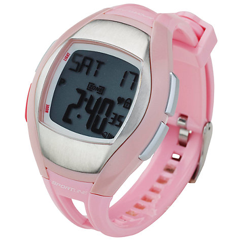 Buy Sportline Solo 925 Heart Rate Watch, Pink Online at johnlewis.com