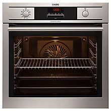 Buy AEG BP5304001M Single Electric Oven, Stainless Steel Online at johnlewis.com