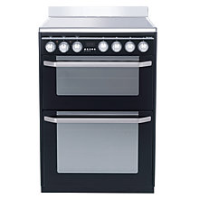 Buy John Lewis JLFSEC610 Electric Cooker, Gloss Black Online at johnlewis.com