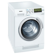 Buy Siemens WD14H520GB Washer Dryer, 7kg Wash/4kg Dry Load, A Energy Rating, 1400rpm Spin, White Online at johnlewis.com