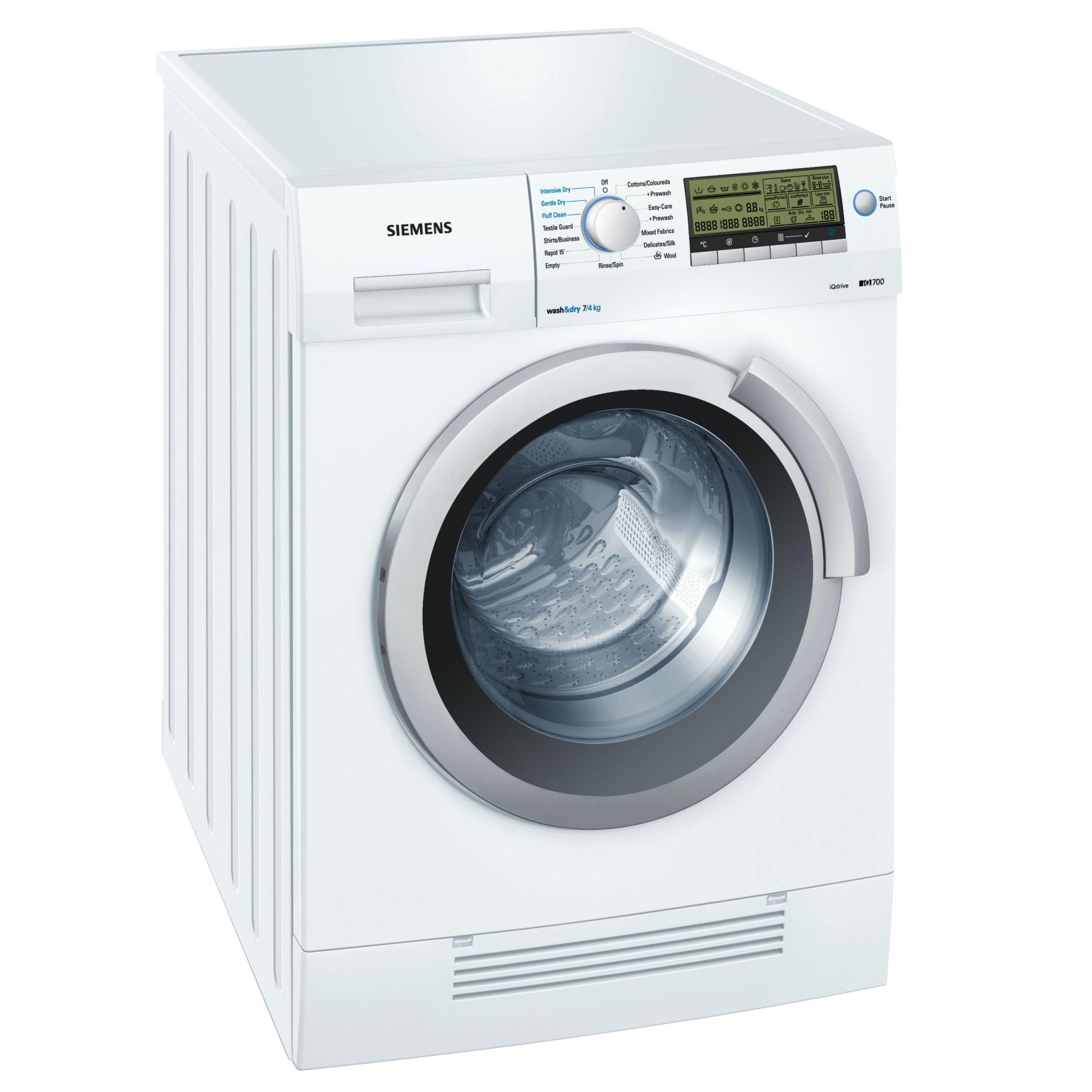 Siemens IQ700 WD14H520GB 1400 Spin 7+4Kg Washer Dryer in White