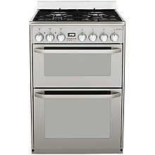 Buy John Lewis JLFSMC607 Dual Fuel Cooker, Stainless Steel Online at johnlewis.com