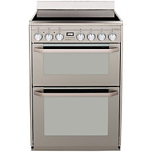 Buy John Lewis JLFSEC608 Electric Cooker, Stainless Steel Online at johnlewis.com