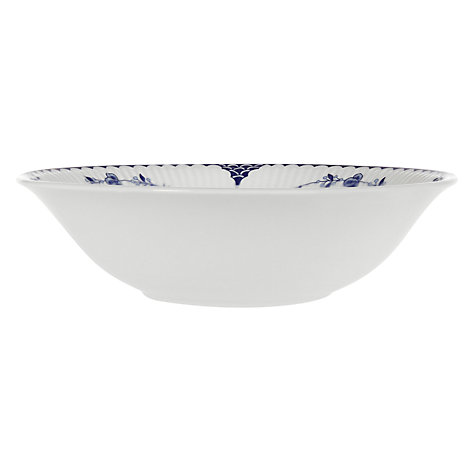 Buy Johnson Brothers Blue Denmark, Oatmeal Bowl Online at johnlewis.com