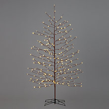 Buy John Lewis Prelit LED Multi Function Christmas Tree, 6ft Online at johnlewis.com