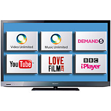Buy Sony Bravia KDL40EX523 LED HD 1080p Smart TV, 40 Inch with Freeview HD Online at johnlewis.com
