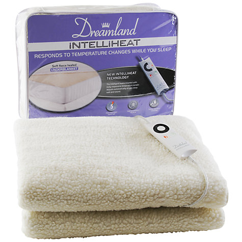 Buy Dreamland 6962 Intelliheat Double Electric Underblanket Online at johnlewis.com