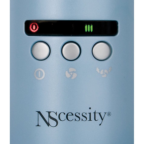 Buy NScessity NSUSF-09 Ultra Slim Personal Fan, Blue Online at johnlewis.com