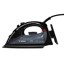 Buy Bosch TDA5621GB Power Plus Steam Iron, Black Online at johnlewis.com