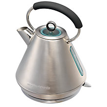 Buy Morphy Richards Elipta Traditional Kettle and 2-Slice Toaster, Brushed Stainless Steel Online at johnlewis.com