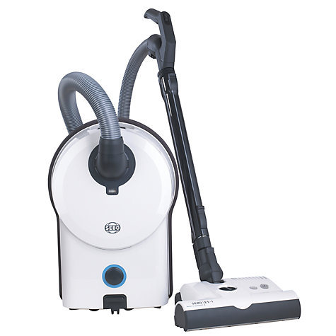 Buy Sebo Airbelt D4 Premium Cylinder Vacuum Cleaner, White Online at johnlewis.com