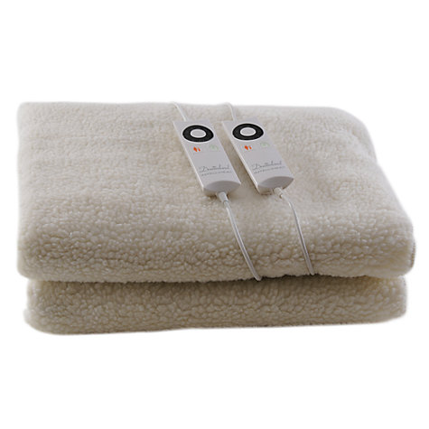 Buy Dreamland 6967 Intelliheat Electric Fleece Mattress Cover, Double Online at johnlewis.com