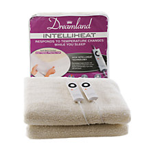 Buy Dreamland 6968 Intelliheat Electric Fleece Mattress Cover, King Size Online at johnlewis.com