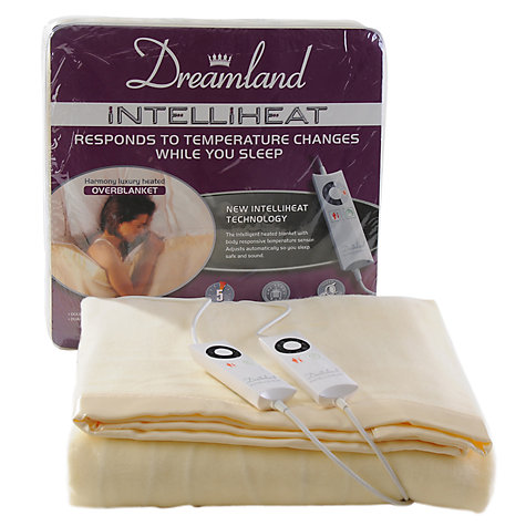 Buy Dreamland 6970 Intelliheat Double Electric Overblanket Online at johnlewis.com