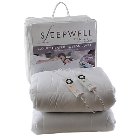 Buy Dreamland 6983 Sleepwell Heated Duvet, Kingsize Online at johnlewis.com