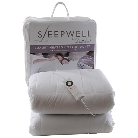 Buy Dreamland 6981 Sleepwell Heated Duvet, Single Online at johnlewis.com