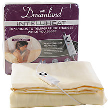 Buy Dreamland 6969 Intelliheat Single Electric Overblanket Online at johnlewis.com