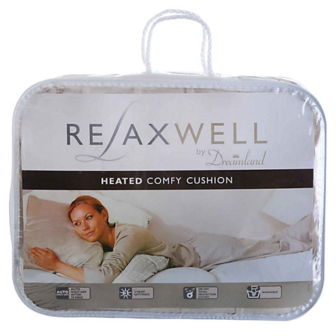 Buy Dreamland Relaxwell Heated Cushion Online at johnlewis.com