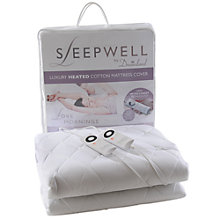 Buy Dreamland 6987 Sleepwell Mattress Cover, Kingsize Online at johnlewis.com