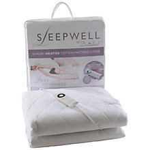 Buy Dreamland 6884 Sleepwell Mattress Cover, Single Online at johnlewis.com