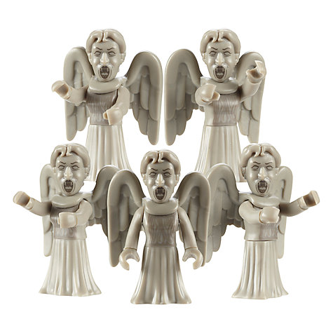 Buy Doctor Who Weeping Angels Builder Pack Online at johnlewis.com