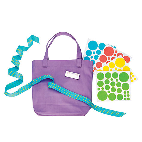 Buy Creativity for Kids Polka Dot Purse Online at johnlewis.com