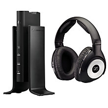 Buy Sennheiser RS170 Wireless Full-Size Headphones, Black Online at johnlewis.com