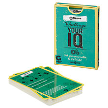 Buy Mensa Challenge Your IQ Cards Online at johnlewis.com