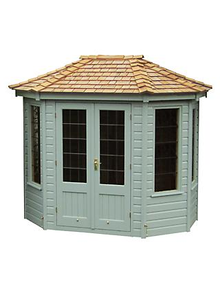 Crane 1.8 x 2.5m Summerhouse, FSC-Certified (Scandinavian Redwood)