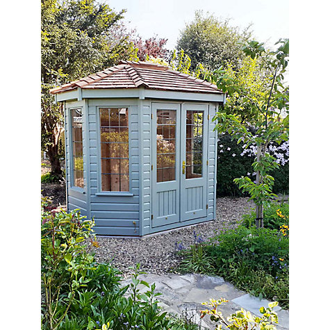 Buy Crane 1.8 x 2.5m Summerhouse, FSC-Certified (Scandinavian Redwood) Online at johnlewis.com