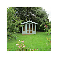 Buy Crane FSC Storage Chalets, Door on Left, 3 x 2.5 m Online at johnlewis.com