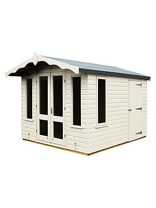 Crane 3 x 2.5m Storage Chalet, Door on Right, FSC-certified (Scandinavian Redwood)