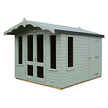 Buy Crane FSC Storage Chalets, Door on Right, 3 x 2.5m Online at johnlewis.com