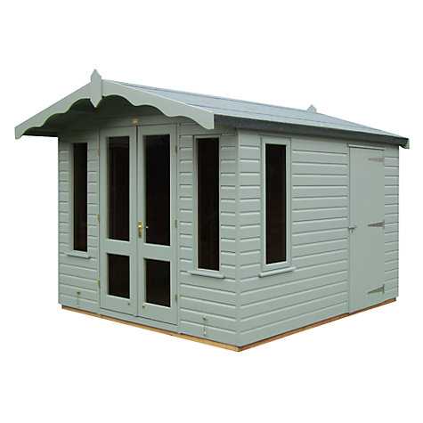 Buy Crane Storage Chalet, Door on Right, 3 x 2.5m Online at johnlewis.com
