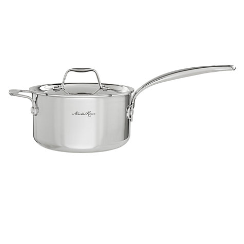 Buy Michel Roux Jr by GreenPan Lidded Saucepans Online at johnlewis.com