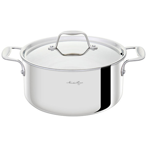 Buy Michel Roux Jr by GreenPan Casserole, Dia.24cm Online at johnlewis.com