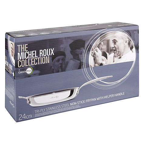 Buy Michel Roux Jr by GreenPan Frying Pan with Helper Handle, 24cm Online at johnlewis.com