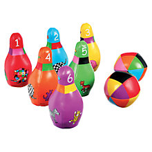 Buy Elmer Bowling Skittles Set Online at johnlewis.com