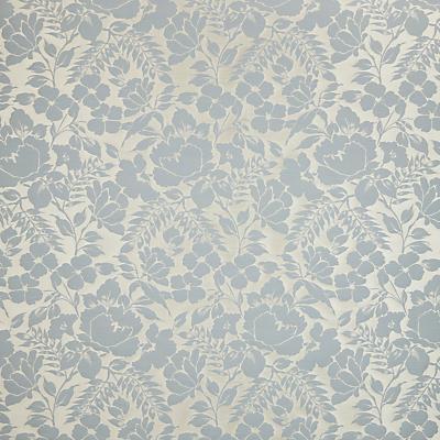 John Lewis Wild Woven Floral Garden Furnishing Fabric, Duck Egg