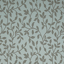 Buy John Lewis Woven Vine Fabric, Duck Egg Online at johnlewis.com